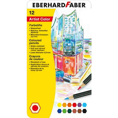 Buntstifte Artist Color, 12 Farben