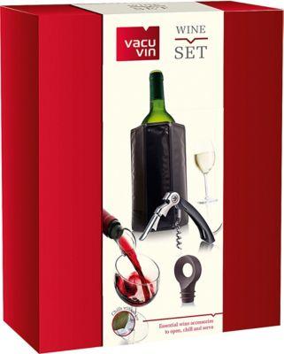 4-tlg. Wein-Set ´´Starter´´ silber