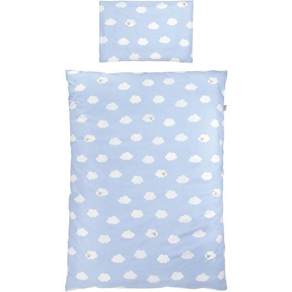 Kinderbettwäsche Kleine Wolke Blau 100 X 135 Cm Blau Roba Yomonda