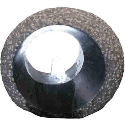Granit Wasserspiel Mit Beleuchtung H34 Cm
