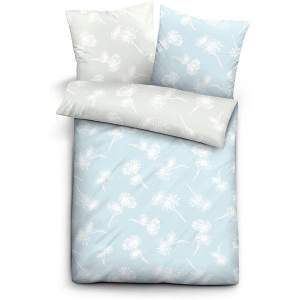 linon bettw sche pusteblume blau yomonda. Black Bedroom Furniture Sets. Home Design Ideas