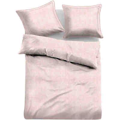 linon bettw sche melange rosa tom tailor yomonda. Black Bedroom Furniture Sets. Home Design Ideas