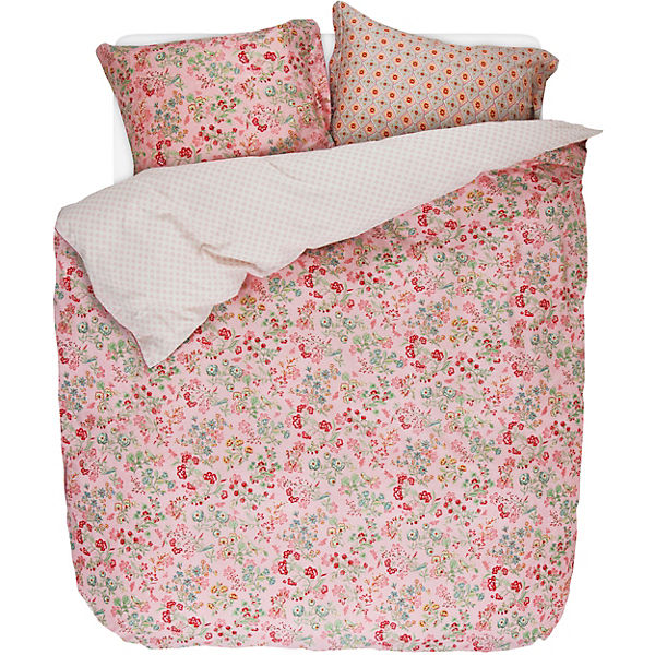 Perkal Bettwäsche Jaipur Flower Rosa Pip Studio Yomonda