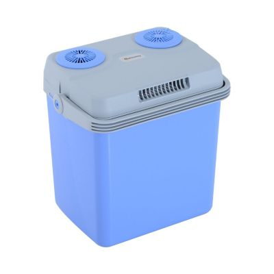 Kühlbox blau/grau