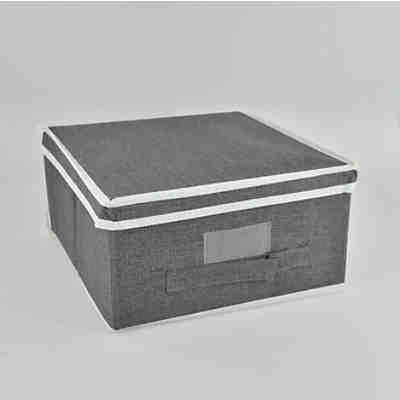 hocker mit jute polster beige yomonda. Black Bedroom Furniture Sets. Home Design Ideas