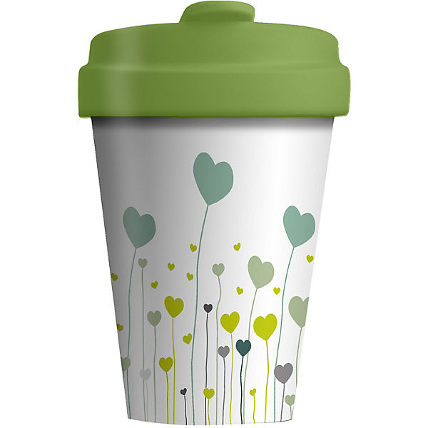 "Bambus Coffee to go Travel Mug ""Field of Love"""