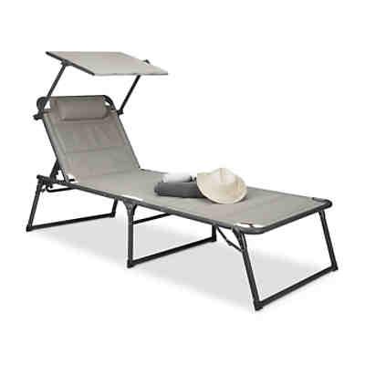 kunststoff sonnenliege sonja uni inkl polsterauflage. Black Bedroom Furniture Sets. Home Design Ideas