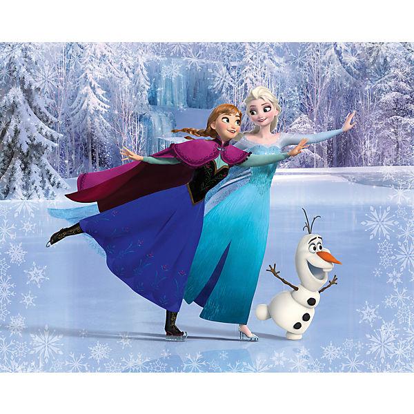 Wandsticker Disney Frozen, mehrfarbig, Disney Die Eiskönigin | yomonda