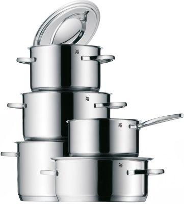 WMF 5-tlg. Edelstahl Topf-Set Gala Plus silber | Küche und Esszimmer > Kochen und Backen > Töpfe | WMF