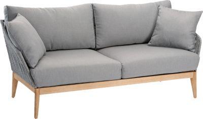 Lounge Sofa hellgrau