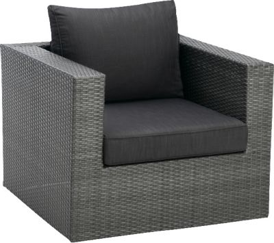 Lounge Sessel anthrazit