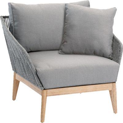 Lounge Sessel hellgrau