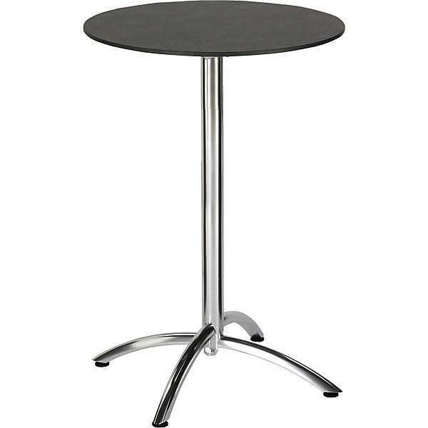 Gartentisch klappbar  Gartentisch klappbar, Ø70 cm, grau, | yomonda