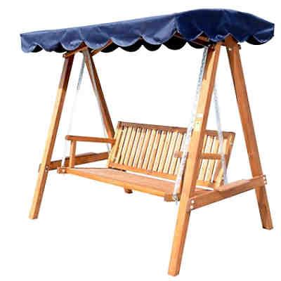 hollywoodschaukel singel karo 1 5 sitzer braun yomonda. Black Bedroom Furniture Sets. Home Design Ideas