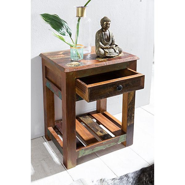 Mango Massivholz Nachttisch & Beistelltisch\