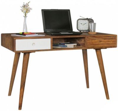 Atemberaubend Hochglanz & Chrom Schreibtisch mit Schublade, weiß, | yomonda #DW_06