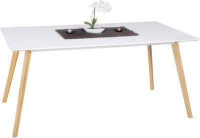 Esstisch ´´Skandi Retro´´ weiß Gr. 90 x 180
