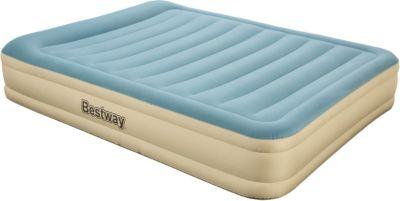 Bestway® Essence Fortech™ Airbed (Queen) 203x152x36 cm, Luftbett mit eingebauter Elektropumpe   Schlafzimmer > Betten > Luftbetten   Bestway