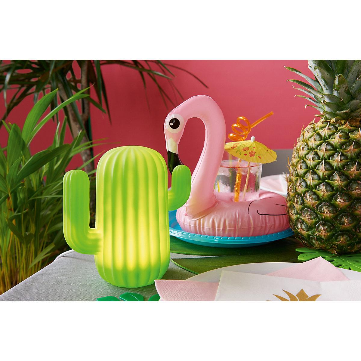 led lampe kaktus mit usb anschluss gr n yomonda. Black Bedroom Furniture Sets. Home Design Ideas
