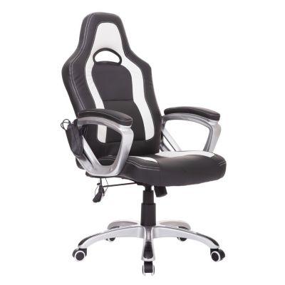 Bürosessel mit Massage/- Wärmefunktion schwarz/...
