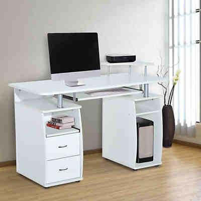schreibtisch arvid wei yomonda. Black Bedroom Furniture Sets. Home Design Ideas