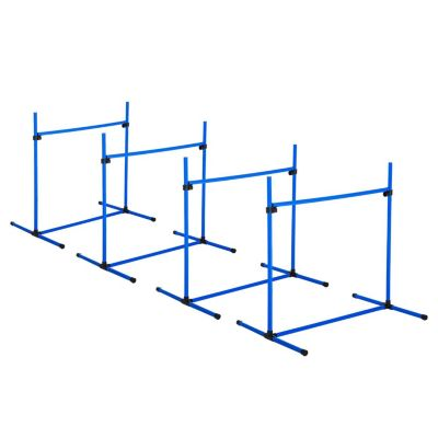 8-tlg. Hunde Hürden Set blau