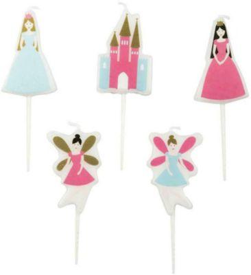 Kerzen Prinzessin, 5 Stück