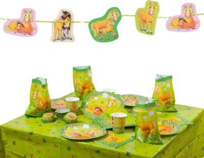 Partyset Mein Ponyhof, 86-tlg. grün