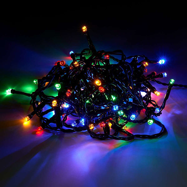 "LED-Lichterkette bunt ""BRIGHT NIGHT"" 80 Lichter"