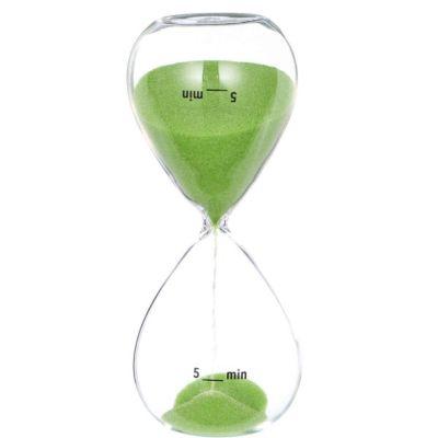 Sanduhr 5 Minuten ´´Gimme five´´ grün