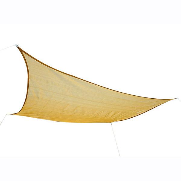 sonnensegel rechteckig 3x4 m beige outsunny yomonda. Black Bedroom Furniture Sets. Home Design Ideas