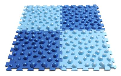Fuß Massage Board PilatesStar Fitnesszubehör blau