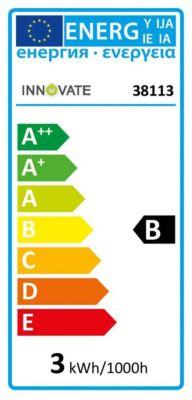 G9 LED-Leuchtmittel, warmweiß 2,9 W farblos