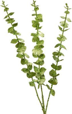 Deko-Zweig L60 cm grün
