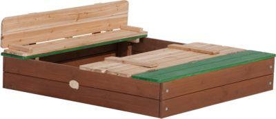 Axi Sandkasten Ella XL braun/grün | Kinderzimmer > Spielzeuge > Sandkästen | Axi