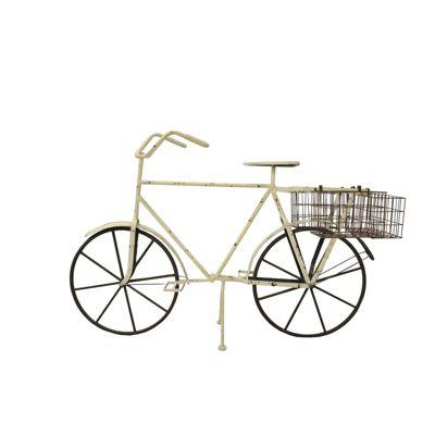 Deko-Fahrrad ´´Marlene´´ B122 cm weiß