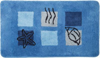 Badteppich ´´Ocean´´ blau Gr. 55 x 60