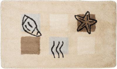 Badteppich ´´Ocean´´ beige Gr. 80 x 150