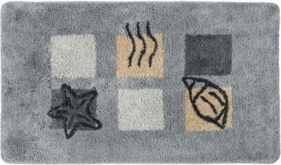 Badteppich ´´Ocean´´ grau Gr. 70 x 120