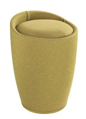 Wäschekorb ´´Candy´´ mit Sitzfunktion grün