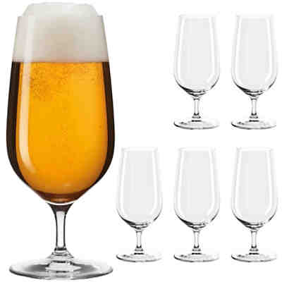 "6er-Set Bierglas  ""Tivoli"" TEQTON® Hightech-Glas 410ml"