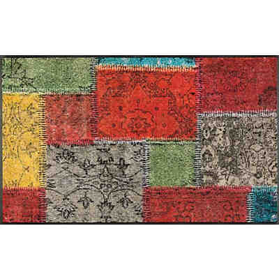 "Teppich ""Design Vintage Patches"" 75x120 cm"