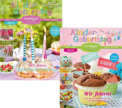 2 Zeitschriften Landkind Spezial Kindergeburtstag