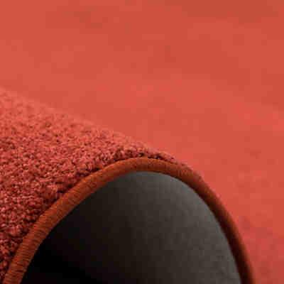 hochflor teppich shaggy nova rund orange yomonda. Black Bedroom Furniture Sets. Home Design Ideas