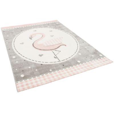 Pergamon Kinder Teppich Maui Kids Pastell Rosa Flamingo rosa Gr. 160 x 230 | Kinderzimmer > Textilien für Kinder > Kinderteppiche | Pergamon