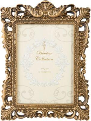 Clayre & Eef Bilderrahmen Fotos 13x18 cm gold Erwachsene