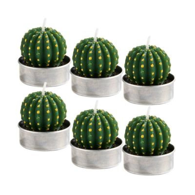 Teelichte Kaktus ´´FLAMBEAU´´ L 4 x B 4 x H 6 c...