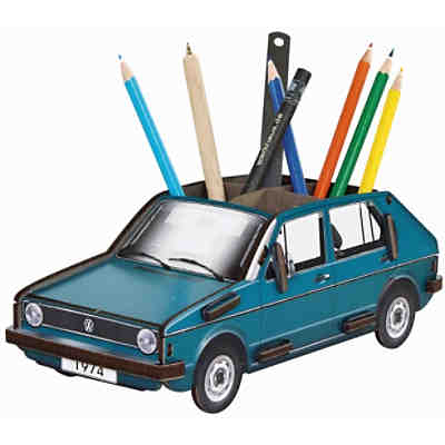 Stiftebox VW Golf 1 blau