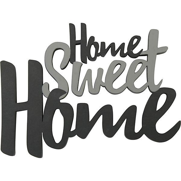 Home Sweet Home Schriftzug : holz schriftzug home sweet home grau yomonda ~ A.2002-acura-tl-radio.info Haus und Dekorationen