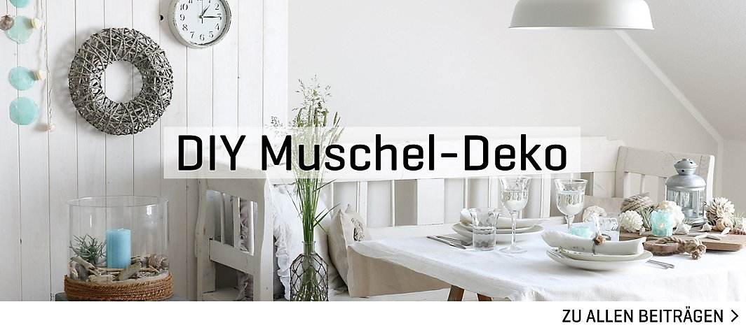 Diy muschel deko yomonda - Muschel dekoration ...